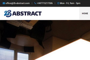 2b-abstract.com - stretch ceilings