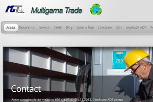 Colectare uleiuri uzate - colectare deseuri periculoase - Multigama Trade Bucuresti