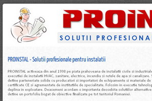 Proinstal : solutii profesionale pentru instalatii